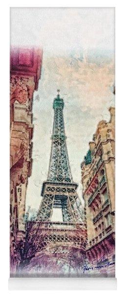 Paris Mon Amour Yoga Mat