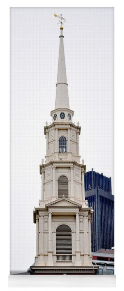 Park Street Church Boston Massachusetts Yoga Mat