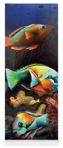 Parrot Fish Yoga Mat