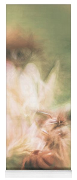 Pastel Painting Of A Honeybee Insect  Yoga Mat