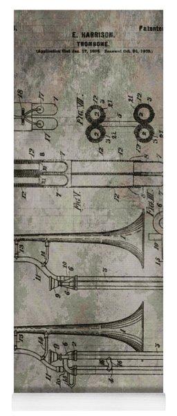 Patent Art Trombone Yoga Mat