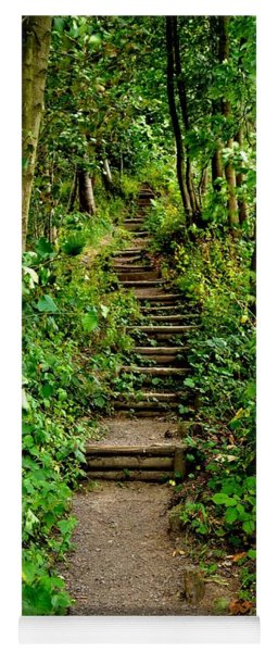 Path Into The Forest Yoga Mat