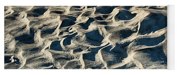 Patterns In Sand 1 Yoga Mat