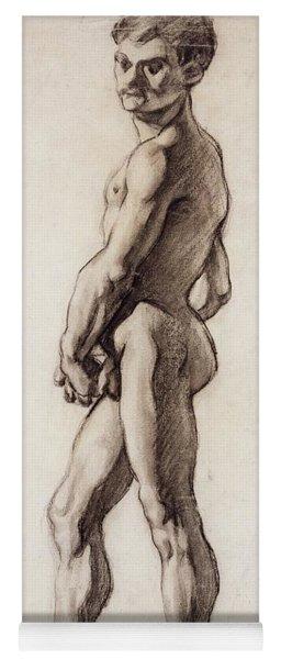 Male Nude Yoga Mat