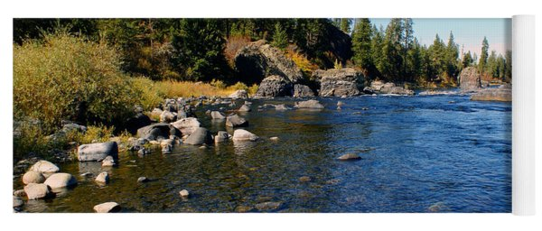Peace On The Spokane River 2 Yoga Mat