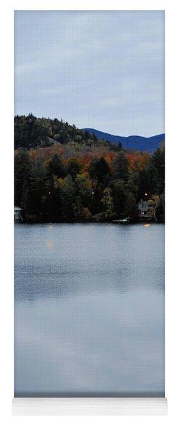 Peaceful Evening At The Lake Yoga Mat