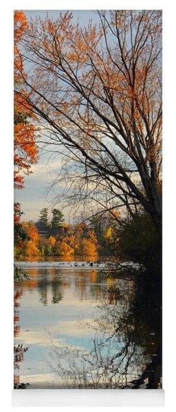 Peaceful October Afternoon Yoga Mat