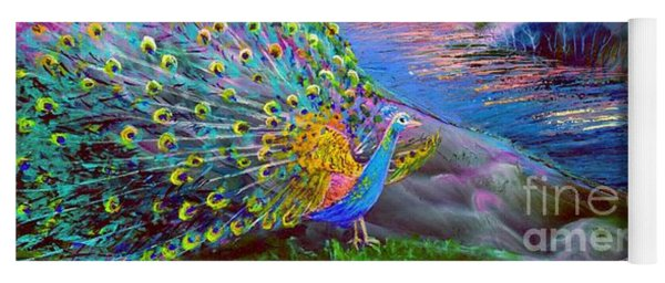Peacock Magic Yoga Mat