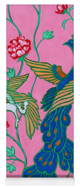 Peacocks Flying Southeast Yoga Mat