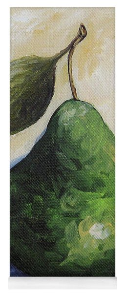 Pear In The Spotlight Yoga Mat