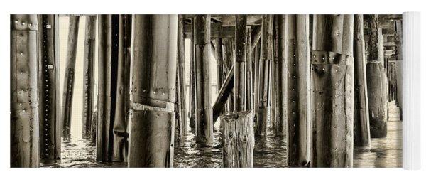 Peeking Under The Pier By Diana Sainz Yoga Mat