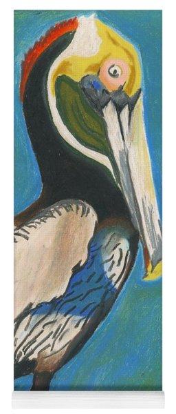 Pelican Blue Yoga Mat