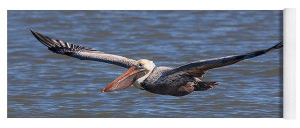 Pelican In Flight Yoga Mat