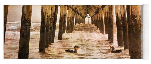 Pelican Paradise Yoga Mat