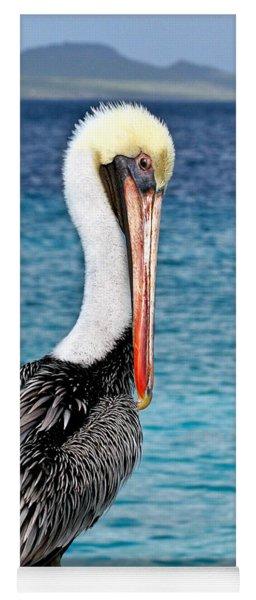 Pelican Portrait Yoga Mat