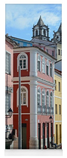 Pelourinho - The Heart Of Salvador Brazil Yoga Mat