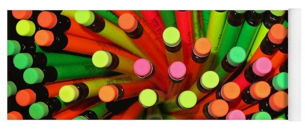 Pencil Blossom Yoga Mat