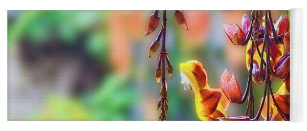 Pending Flowers Yoga Mat