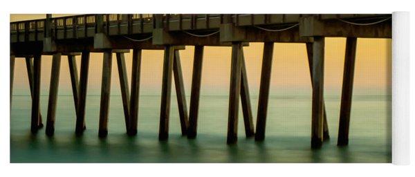 Pensacola Beach Fishing Pier Yoga Mat