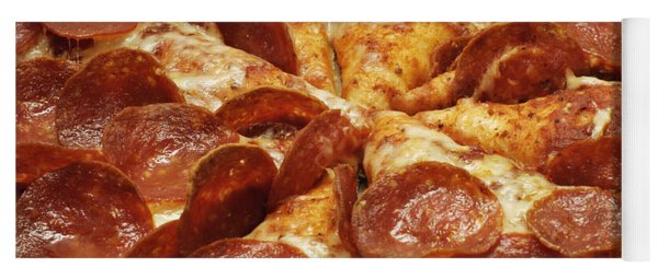 Pepperoni Pizza 1 Yoga Mat