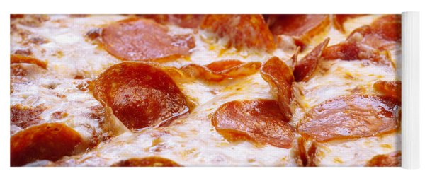 Pepperoni Pizza 1 - Pizzeria - Pizza Shoppe Yoga Mat