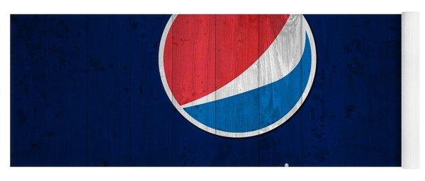 Pepsi Barn Sign Yoga Mat
