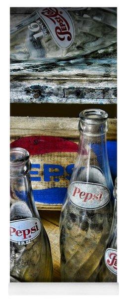 Pepsi Bottles And Crates Yoga Mat