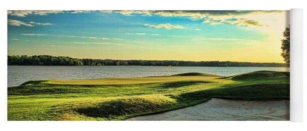 Perfect Golf Sunset Yoga Mat
