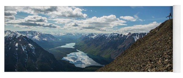 Person High Above Yukon Yoga Mat