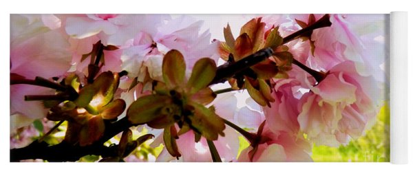 Petals In The Wind Yoga Mat