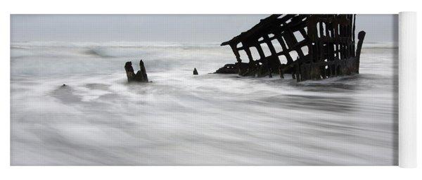 Peter Iredale Shipwreck Oregon 2 Yoga Mat