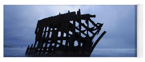 Peter Iredale Shipwreck Oregon 3 Yoga Mat