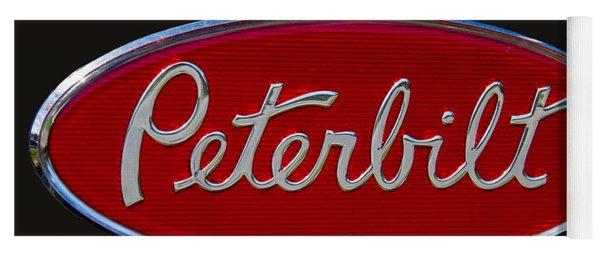 Peterbilt Semi Truck Emblem Yoga Mat