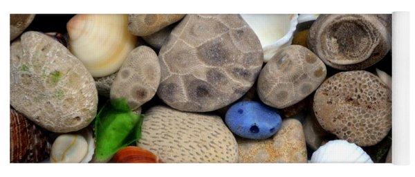 Petoskey Stones Lll Yoga Mat