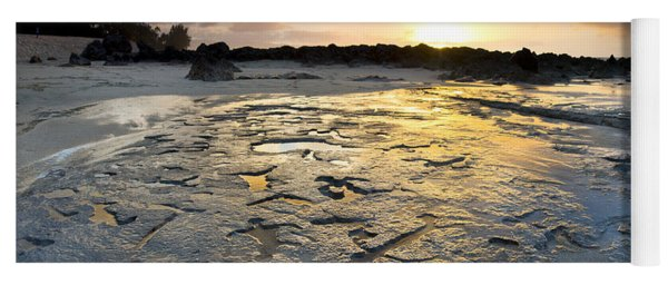 Petroglyphic Sunset Yoga Mat