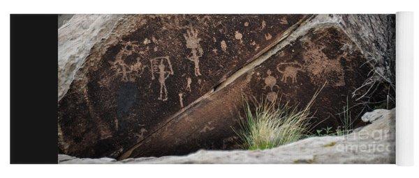 Petroglyphs Yoga Mat