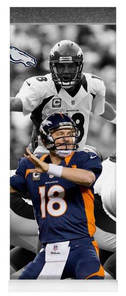 Peyton Manning Broncos Yoga Mat