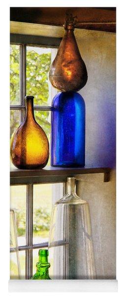 Pharmacy - Colorful Glassware  Yoga Mat