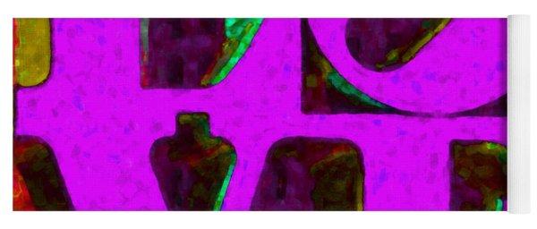 Philadelphia Love - Painterly V2 Yoga Mat