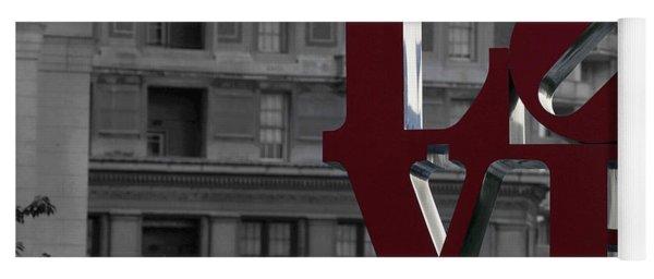 Philadelphia Love Yoga Mat