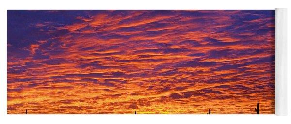 Phoenix Sunrise Yoga Mat