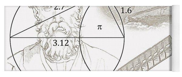 Pi Archimedes Yoga Mat