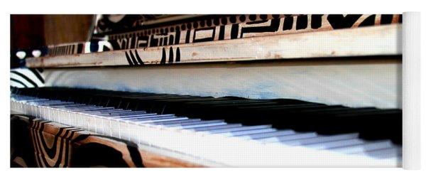 Piano In The Dark - Music By Diana Sainz Yoga Mat