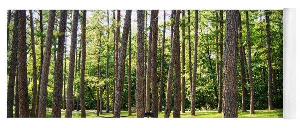 Picnic In The Pines Yoga Mat