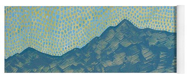 Picuris Mountains Original Painting Yoga Mat