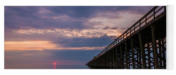 Pier To The Horizon Yoga Mat