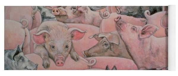 Pig Spread Yoga Mat