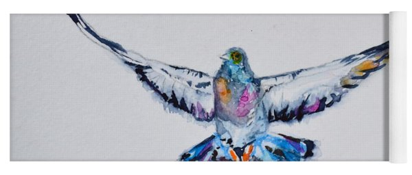 Pigeon In Flight Yoga Mat