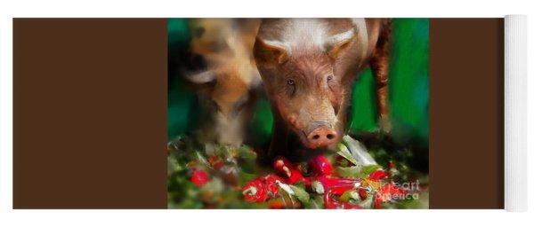 Pigs Yoga Mat