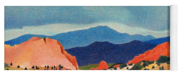 Garden Of The Gods Pikes Peak Yoga Mat